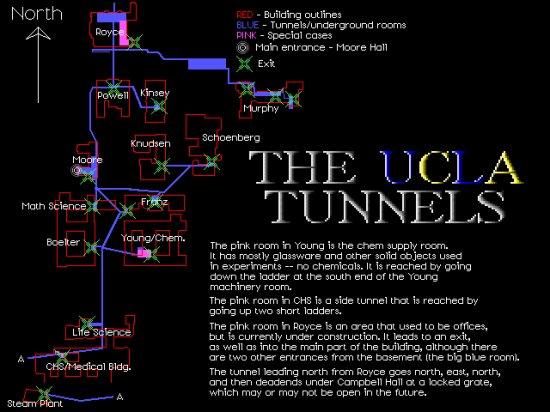 Ucla Steam Tunnels